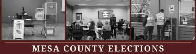 Welcome to Mesa County Elections