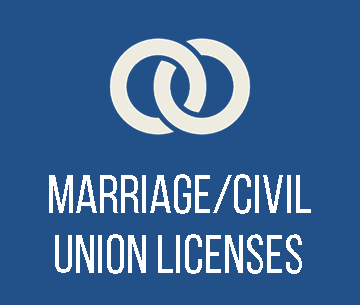 Click to learn more about Marriages/Civil Unions